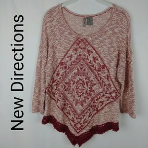 New Directions | Weekend Knit Sweater
